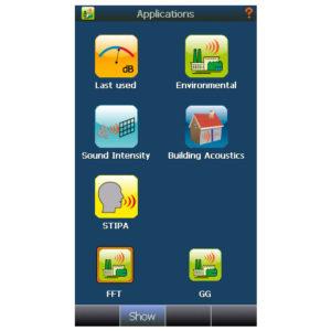 Application display - Nor150