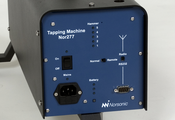 Tapping Machine Nor277 - close up!