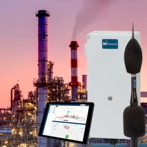 Environmental monitoring - Norsonic Nor1545, Noise Compass and NorCloud