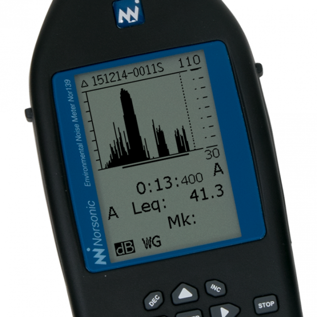 Environmental Noise Meter Nor139