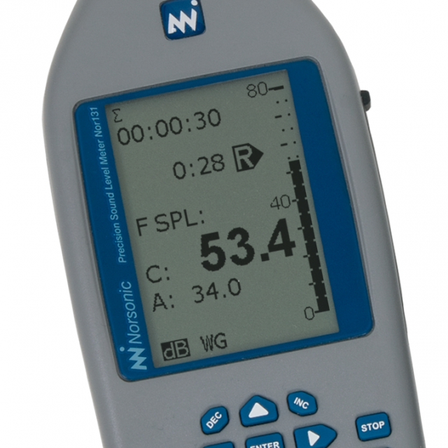Sound Level Meters Nor131/Nor132