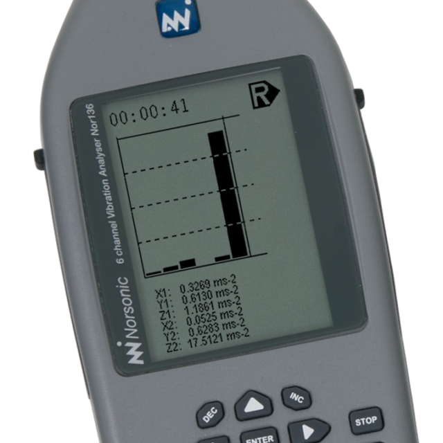 Vibration meters Nor133/Nor136