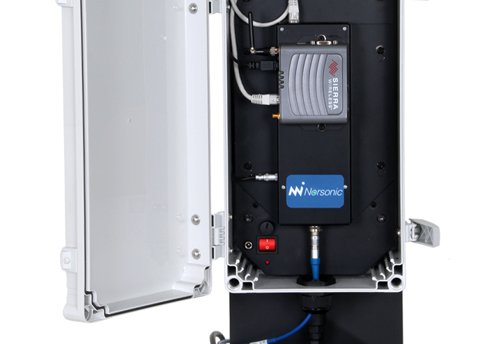 Nor1531 cabinet for outdoor monitoring