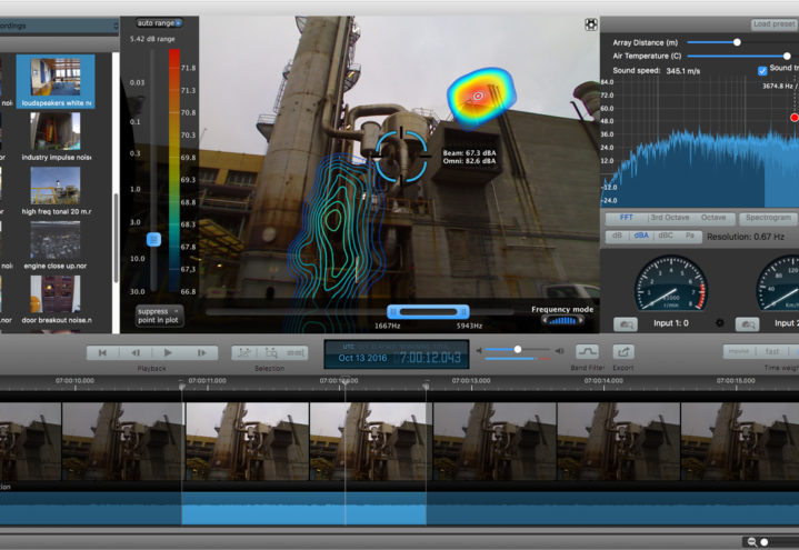 Norsonic Acoustic Camera software
