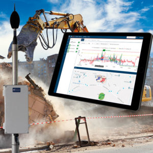 Environmental monitoring with outdoor cabinet, microphone and NorCloud - easy!