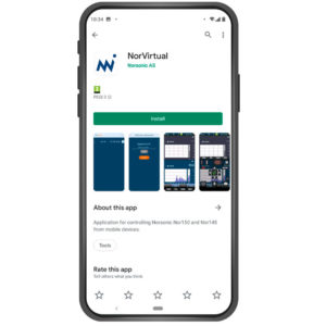 NorVirtual App - install on your smartphone or tablet from Google Play or Apple Store