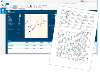 Nor850 reporting software v3