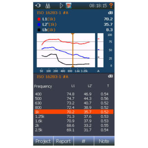 Building acoustic – rating view 3